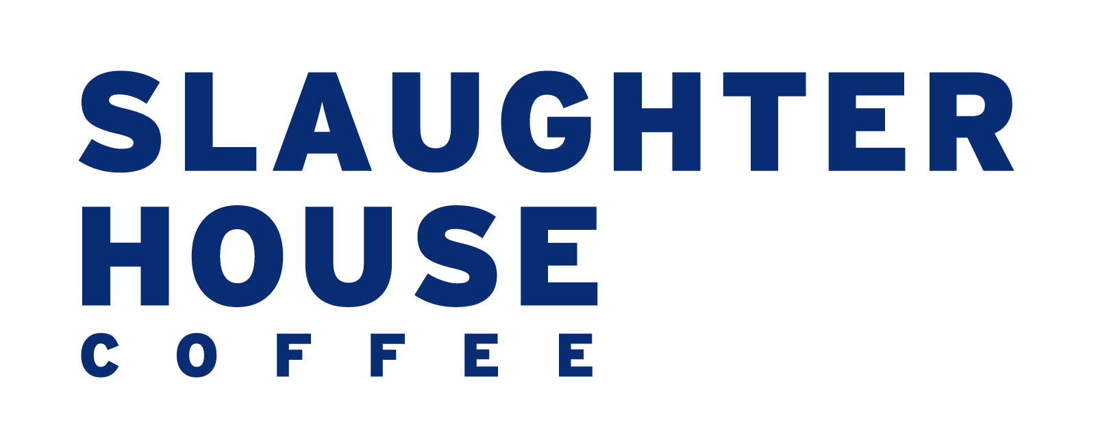 Slaughterhouse Typographic Logo