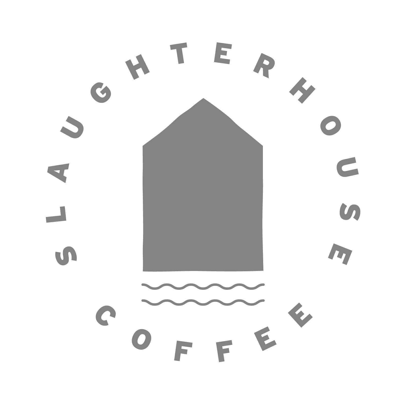 Pink Slaughterhouse Coffee logo badge