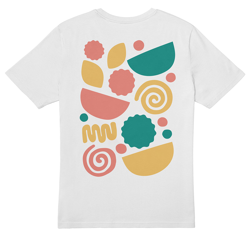 Yolk + Pod T-shirt back
