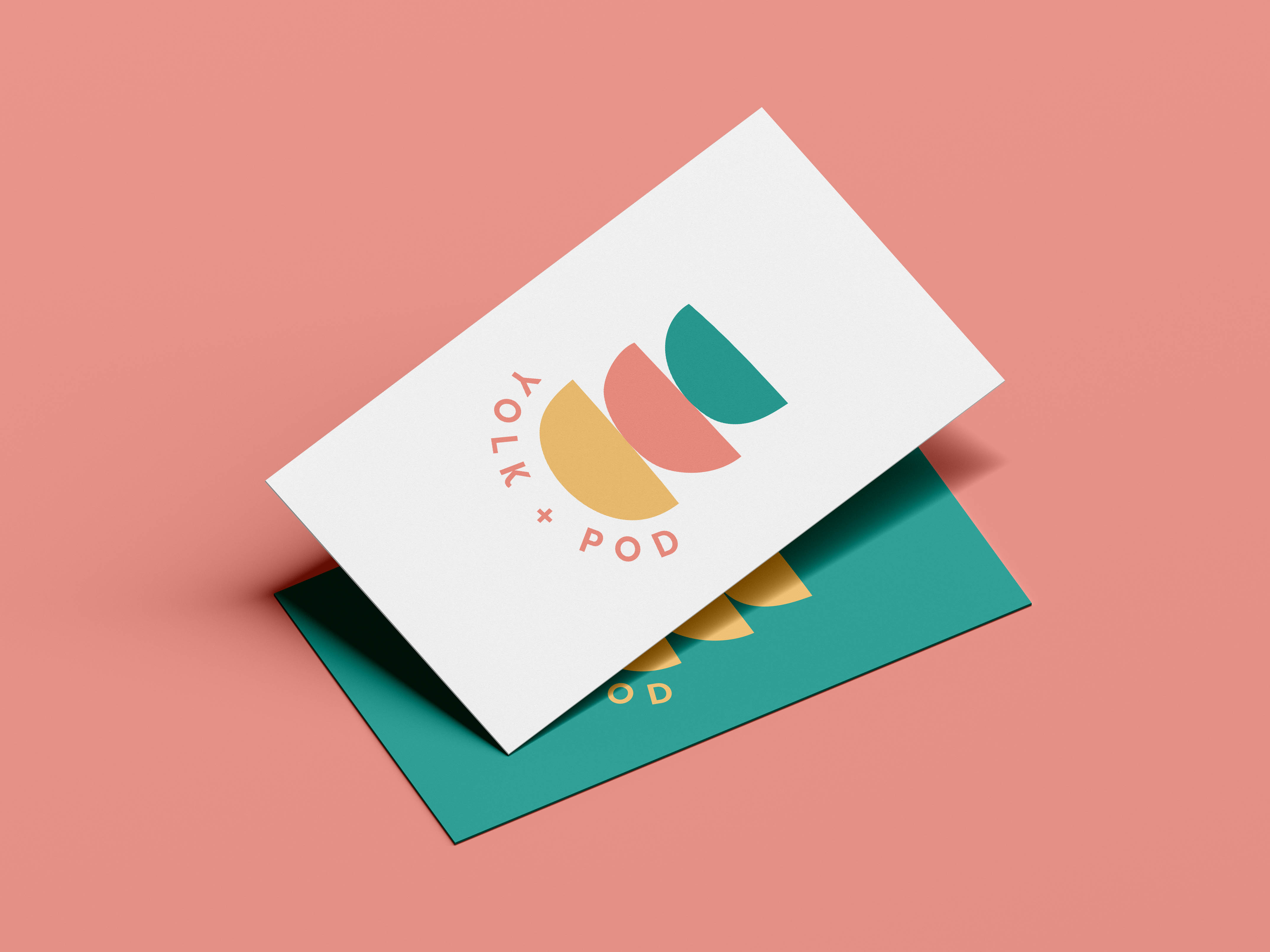 Yolk + Pod business cards
